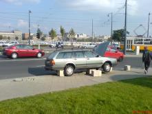 Parkolás a Gellért téren